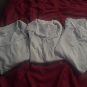 bundle of school shirts